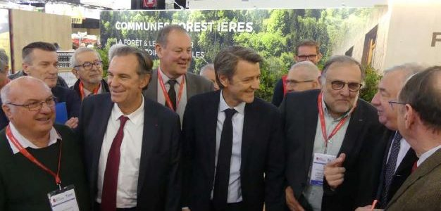 L'OCCITANIE EN FORCE SUR LE STAND COMMUNES FORESTIERES AU SALON DES MAIRES